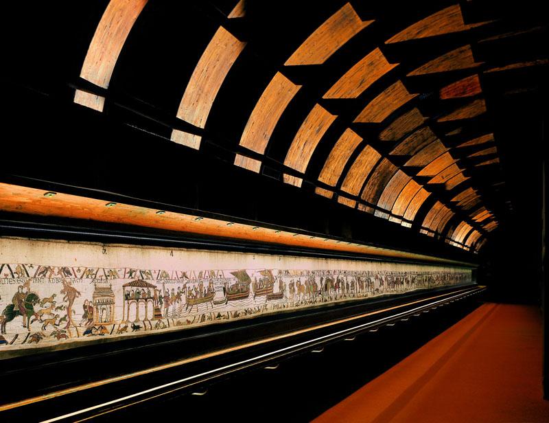 800-Tapisserie de Bayeux, goelette © Ville de Bayeux-© Ville de Bayeux