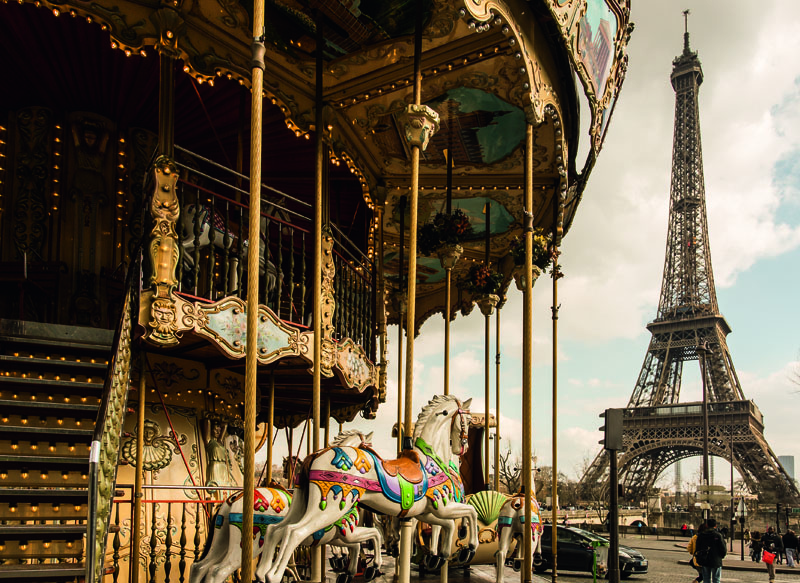 Highlights tour eiffel carroussel ©Paris Tourist Office Photographe Lanes Jair