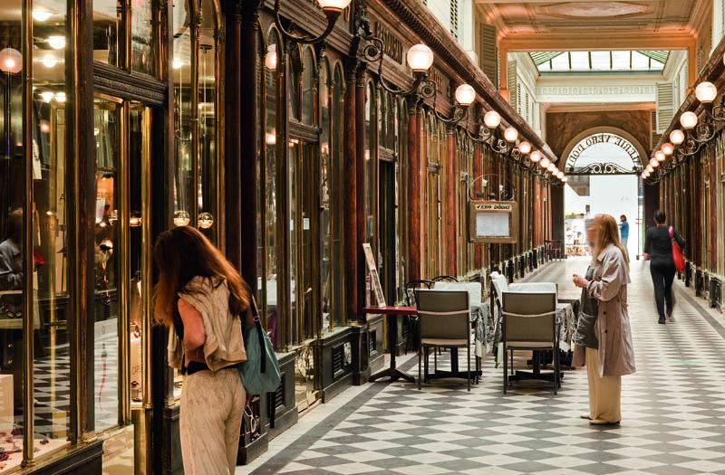 passage couvert © Carmen MoyaOffice de Tourisme de Paris Photographe Pacal Bertrand