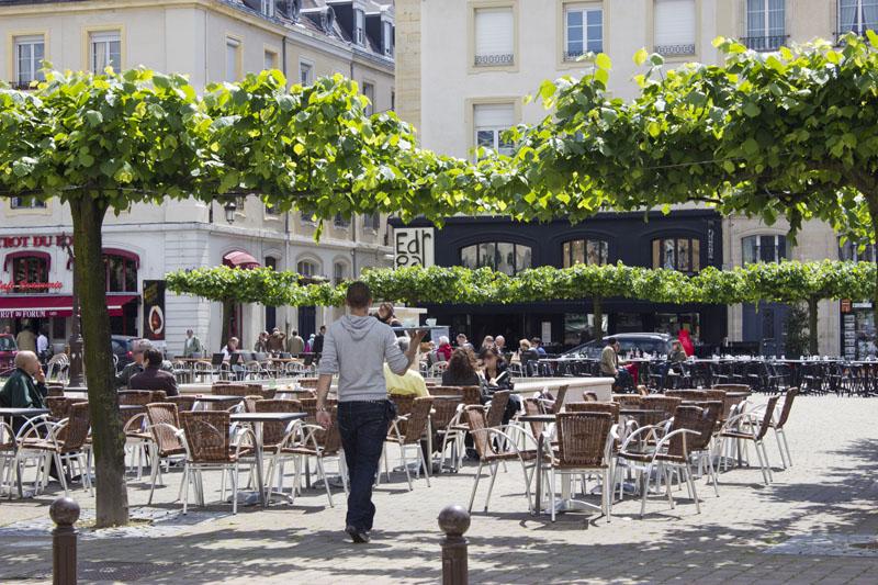 reims place du forum ©Carmen Moya