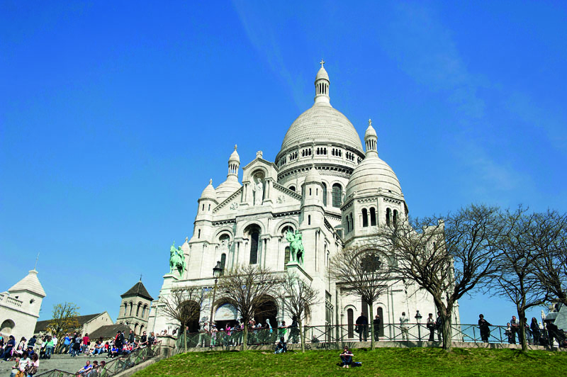 sacré choeur © Carmen MoyaDaniel Thierry Paris Tourist Office