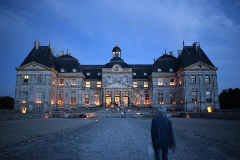 All Inc Paris Vaux le Vicomte at night ©fisandra
