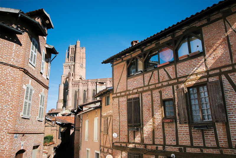 Etiquette Albi- centre_historique ©OT ALBI