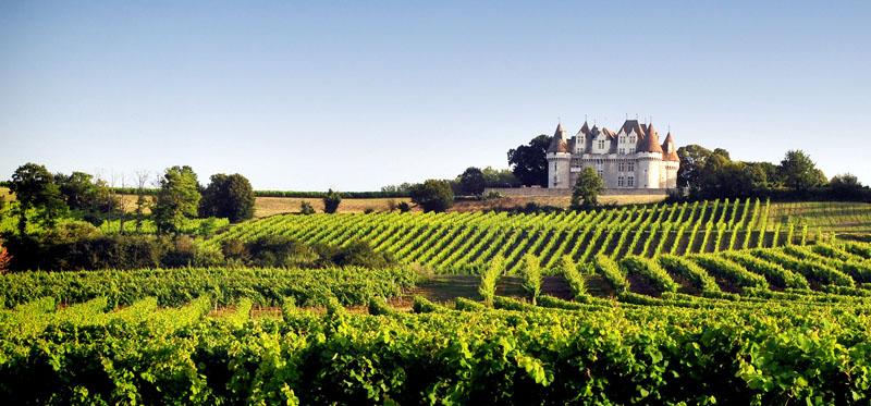 Etiquette CDT Dordogne Vignoble et Château de Monbazillac © IVBD