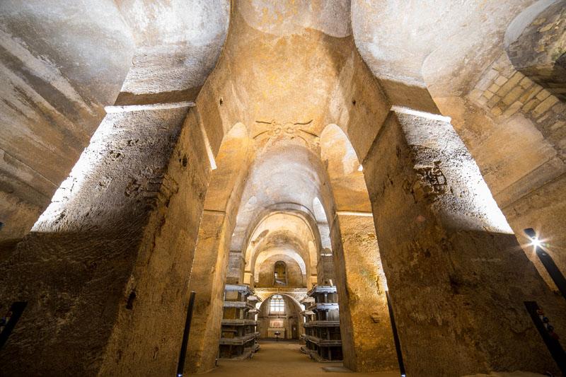 Interieur église monolithique Saint-Emilion © STEVE LE CLECH 2 OT St Emilion