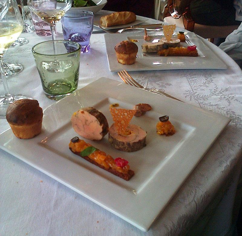 Plat Foie Gras Michelin©fisandra