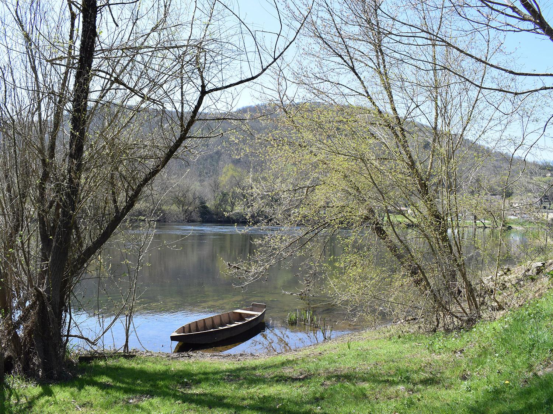 DT Dordogne valley Riviere barque @fivoyages